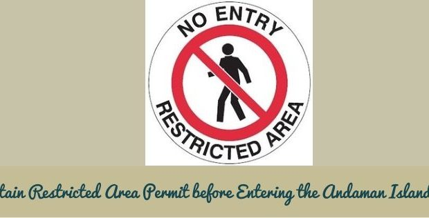 Andaman Islands Restricted Area Permit